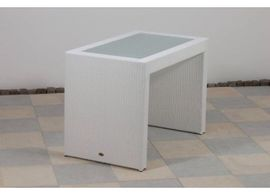 NEU - Polyrattan Bar-Set in weiß -: Kleinanzeigen aus Bad Aibling - Rubrik Gartenmöbel