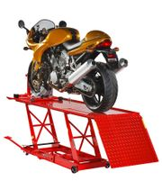 Hebebühne Motorrad - Hydraulisch Rot - Motorradhebebühne