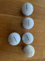 5 Golfbälle
