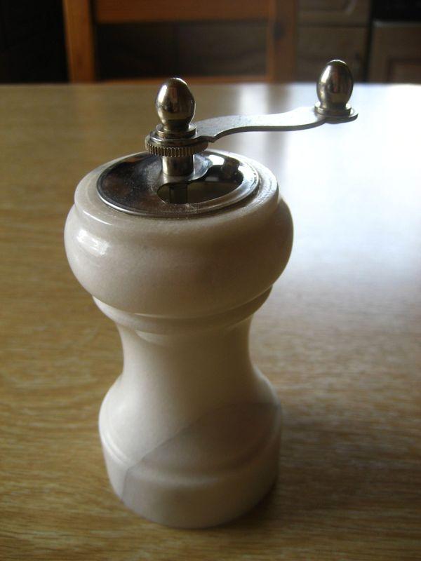 Pfeffermühle Salzmühle Mühle aus Onyx