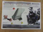 Motorrad Windschild