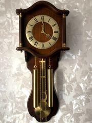 Pendeluhr Wanduhr mit Pendel Uhr