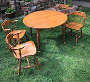 Tisch Stuhl Tischgruppe Esszimmer Set