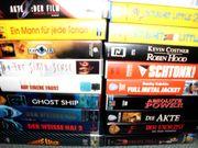 VHS SPIELFILM- UND MUSIKVIDEOSAMMLUNG MIT VIELEN RARITÄTEN! gebraucht kaufen  Nürnberg Forsthof