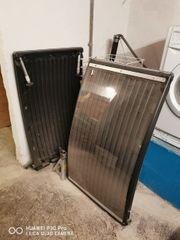 Solarplatten Poolheizung