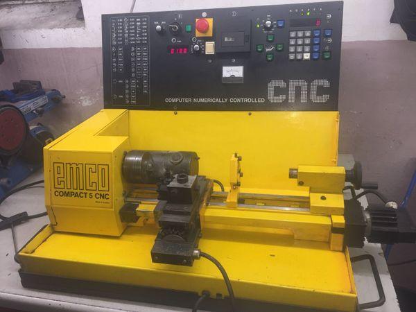 Emco Compact 5 » Produktionsmaschinen