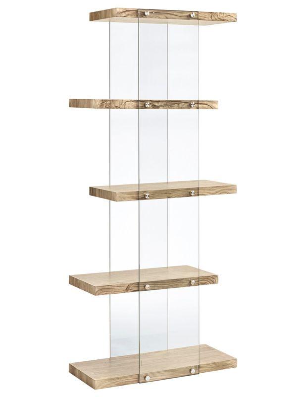 Neu Standregal Mit Glas Heine Home Modern Bücherregal Regal Anrichte