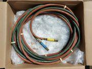 Schlauchpacket für Autogenschweißen Acetylen Sauerstoff