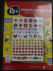 Sticker-Sammlung