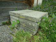 beton-Gartenplatten