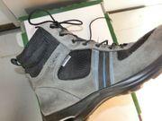 ECCO Schuhe Stiefel Boots grau