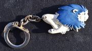 Seltener PEUGEOT Löwe Schlüsselanhänger - Werbefigur