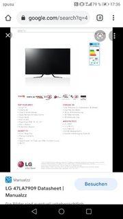 Fernseher Cinema 3D Smart TV
