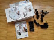 Nokia 6233 in schwarz silber -