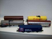 Märklin H0 Güterwagen 5 Stück