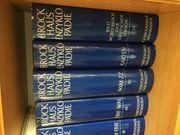 Brockhaus Enzyklopädie mit Goldschnitt