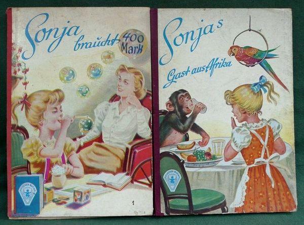 2 alte Mädchenbücher aus der