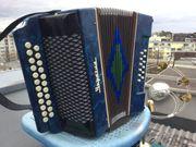 Knopfakkordeon Harmonika russische Garmoschka Ukraina