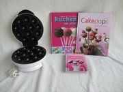 Cakepop Maker mit 3 Büchern