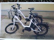 E bike mini weiß von