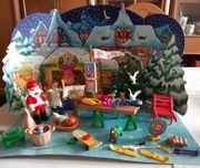 Playmobil Adventskalender 3976 Weihnachtsmarkt 1999