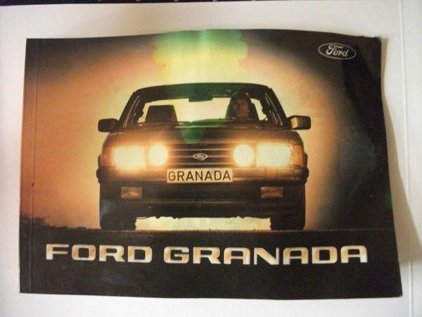 Ersatzteile - Neudenau - Verkaufe: Bedienungsanleitung u.hintere Bremsbacken für Ford Granada. - Neudenau