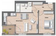 Wunderschöne 2-Zimmer Wohnung mit Loggia