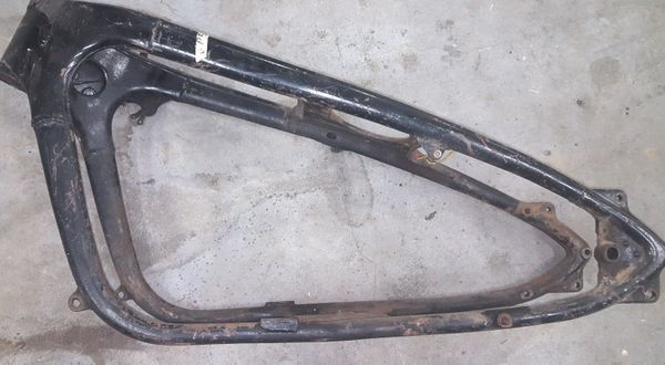 Rahmen Zündapp KS 750 von