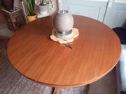 Tisch - Massivholz - rund - ausziehbar - Esstisch