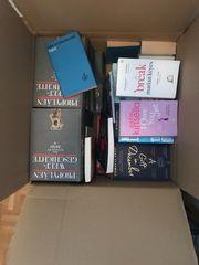 Bücher Kiste gemischt