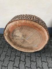 Baumscheiben aus Erlenholz