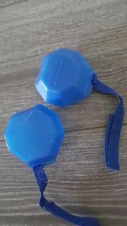 schnullerbox 2x blau babynova