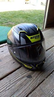Motorradhelm Nolan N87 Neon