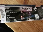 Metallica Ticket 25 08 2019