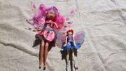 versch 6 Stk Barbie-Puppen komplett