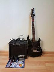 E-Gitarre Ibanez zu verkaufen