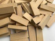 Holzbausteine Holzbauklötze Bausteine Natur Holz