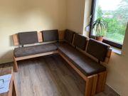 Sitzeckbank mit Stauraum
