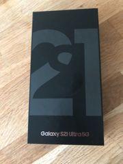 Samsung S21 ultra Schwarz Neu