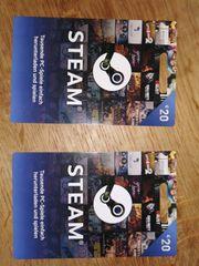 Steam Guthaben 2x20EUR