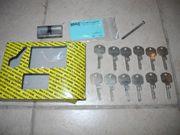Sicherheits Schließzylinder 12 Schlüssel Sicherungskarte