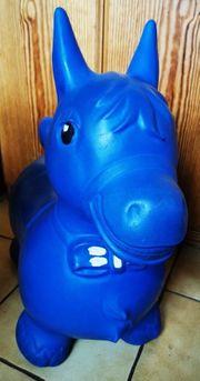 Hüpf-Tier Hüpfspaß mit Bonito blau