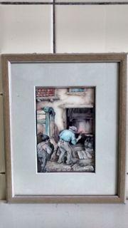 Zum Verkauf 5er-Set Gemälde von