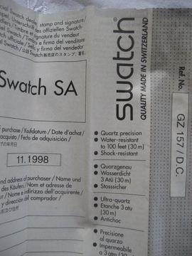 Swatch Uhr Daimler Chrysler Mercedes: Kleinanzeigen aus Birkenheide Feuerberg - Rubrik Uhren