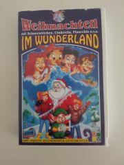 Weihnachten im Wunderland VHS-Kassette