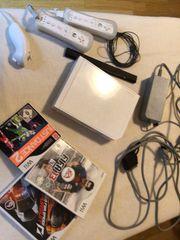 Nintendo Wii plus 3 Spiele