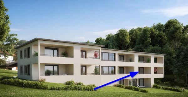 Provisionsfreie 2-Zimmer Neubau-Wohnung