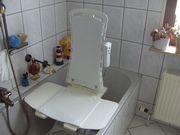 Seniorenhilfe,Badewannensitz Hebelift