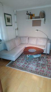 Moderne Couch Sofa Echtleder