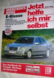 Fachbuch Reparaturanleitungen für Mercedes-Benz E-Klasse